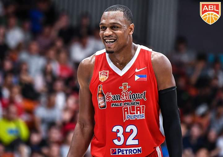 Justin Brownlee returns to Alab Pilipinas