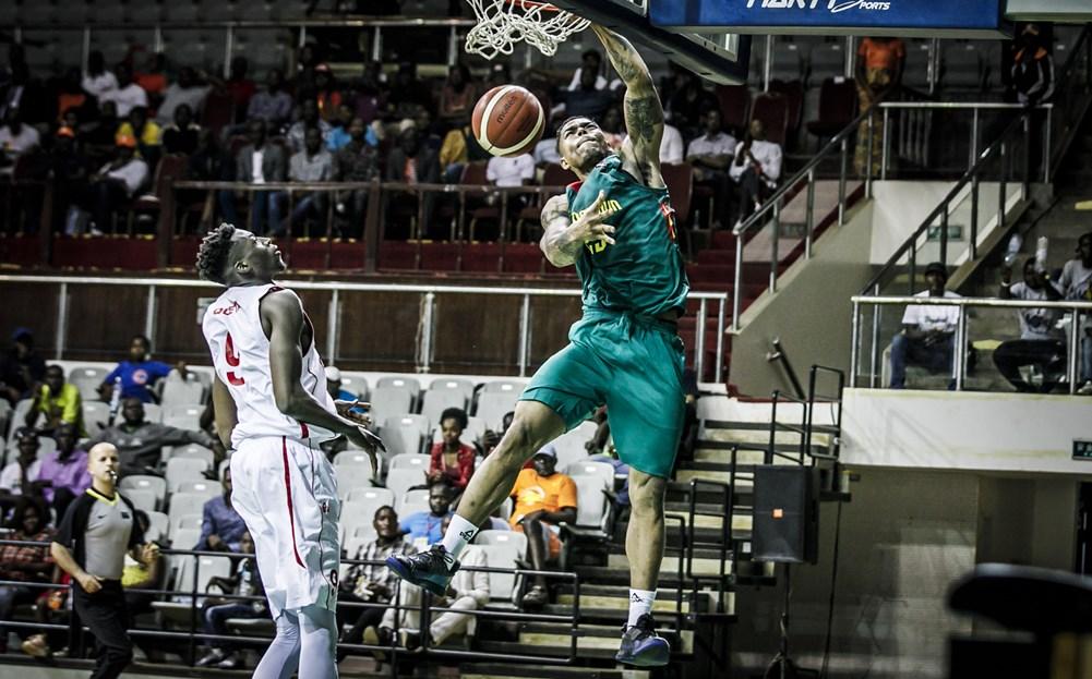 WATCH: Ben Mbala dunks both Top 1 in FIBA AfroBasket top plays