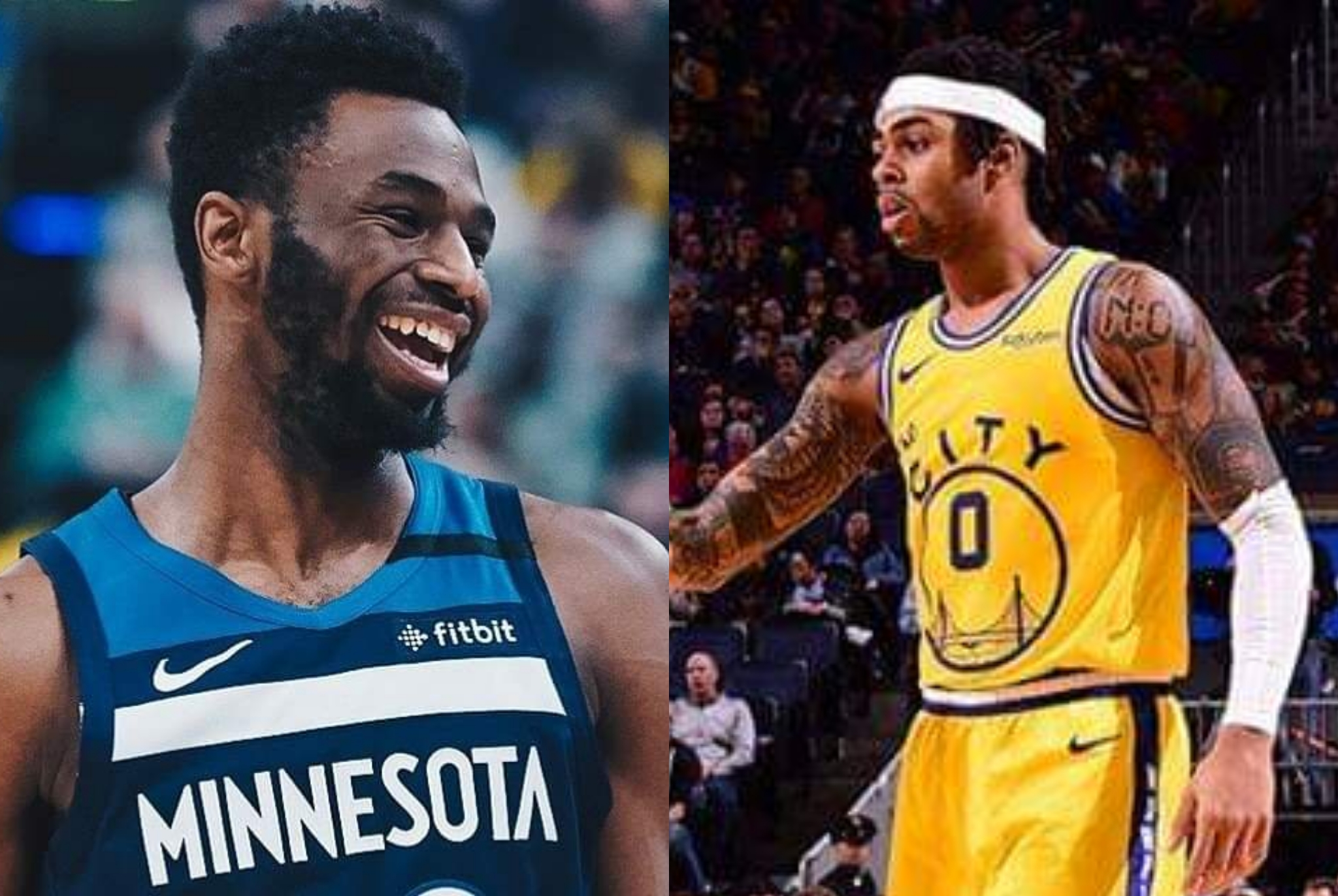 NBA trade: D'Angelo Russell, Andrew Wiggins in blockbuster Warriors-Wolves trade