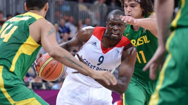 NBA All-Star and Olympian Luol Deng