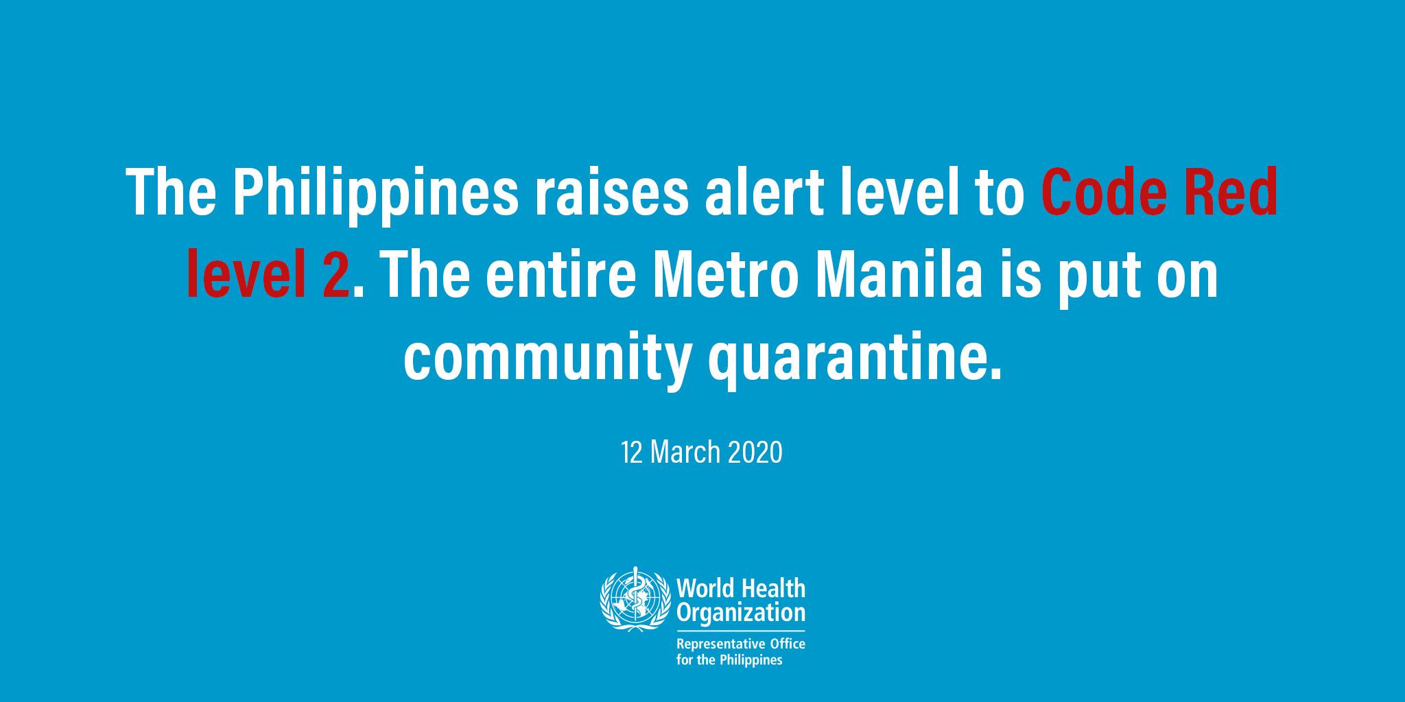 COVID-19: Duterte declares Metro Manila lockdown; no classes, domestic travel until mid-April