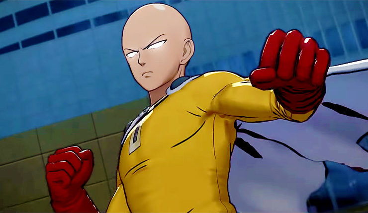 'One Punch Man' Live-Action Film In Development From Sony
