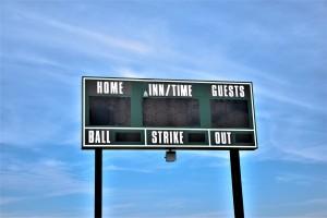 baseball,s coreboard, scores, [pixabay photo]
