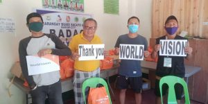 World Vision, through its community and government partners distributes sanitation kits in Marawi City and Piagapo, Lanao del Sur.