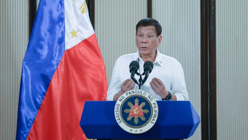 NPAs could get COVID-19 vaccine shot, PH President Duterte says