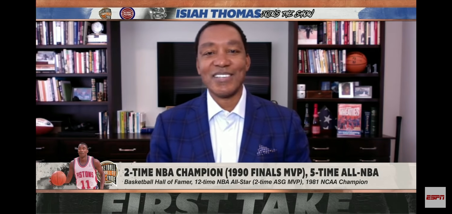 WATCH: Bill Laimbeer, Isiah Thomas reflect on no-handshake vs Bulls in 1991