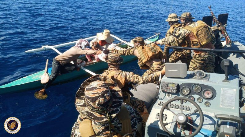 Naval Forces Central shared love while manning Mactan, Olango, Hilutungan Channels