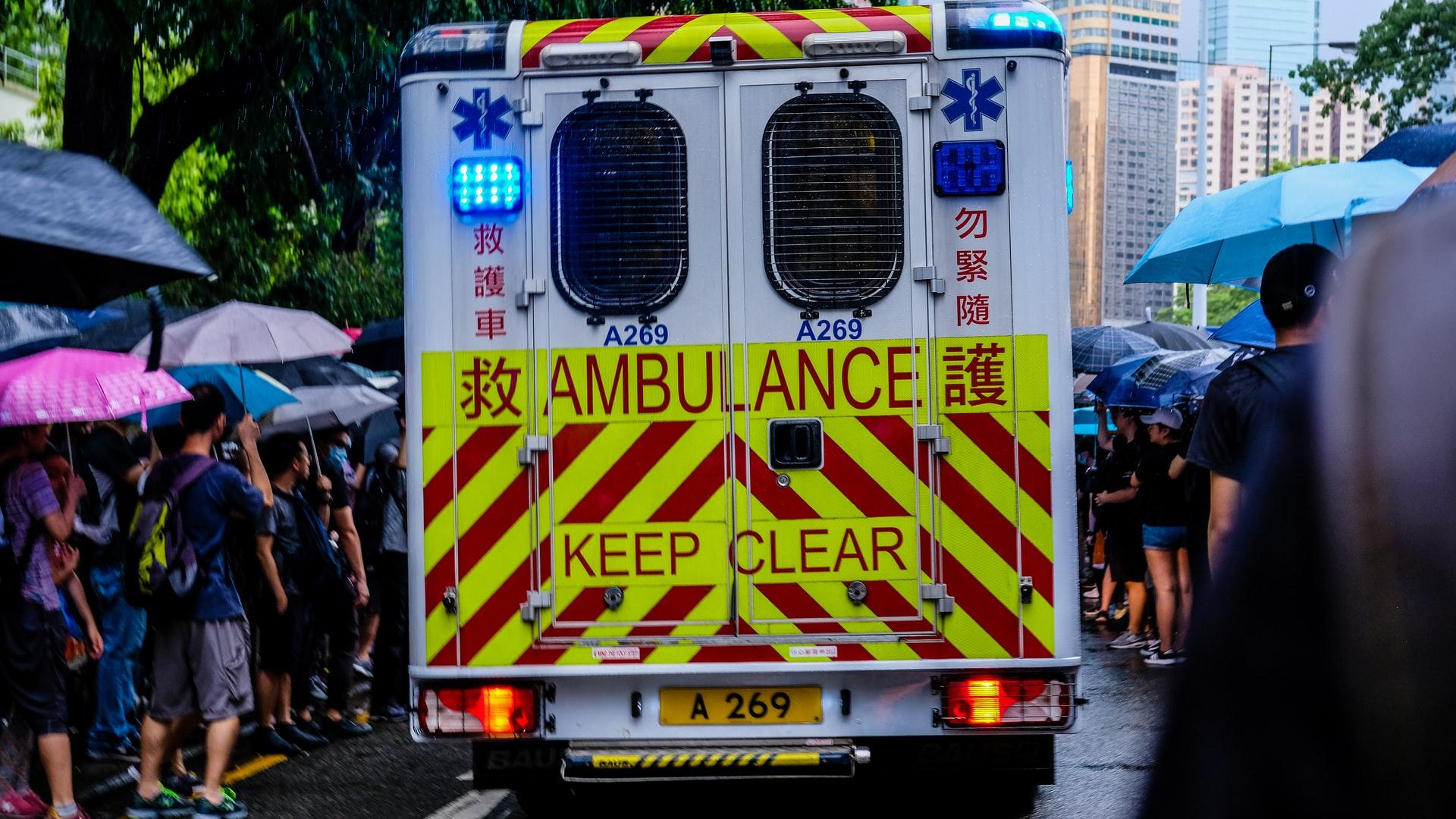 Virus crisis eases but no let-up for Spain's ambulances