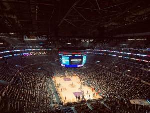 NBA, NBA arena, NBA court [Photo by Tim Hart on Unsplash]