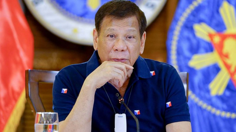 President Duterte to tap military reservists, police personnel to fight COVID-19