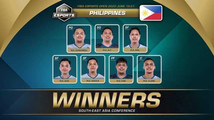 FIBA E-Sports: Philippines sweeps Indonesia to win Southeast Asia conference