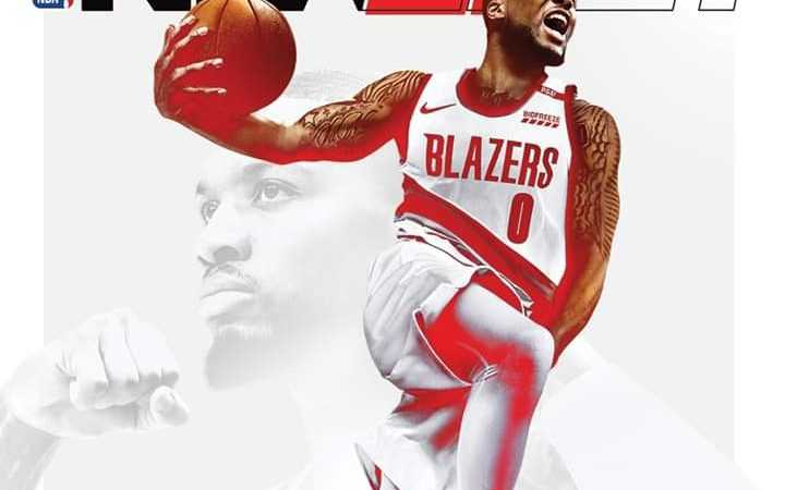 NBA: Damian Lillard is NBA 2K21 cover athlete