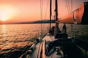 sailing, sail, boat, ship, water [Photo by Markos Mant on Unsplash]
