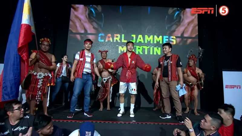 Boxing: 'Wonder Boy' Martin vows to bring Ifugao-inspired entrance to Vegas