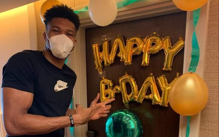 NBA: Giannis surprises older brother Thanasis during birthday inside 'bubble'