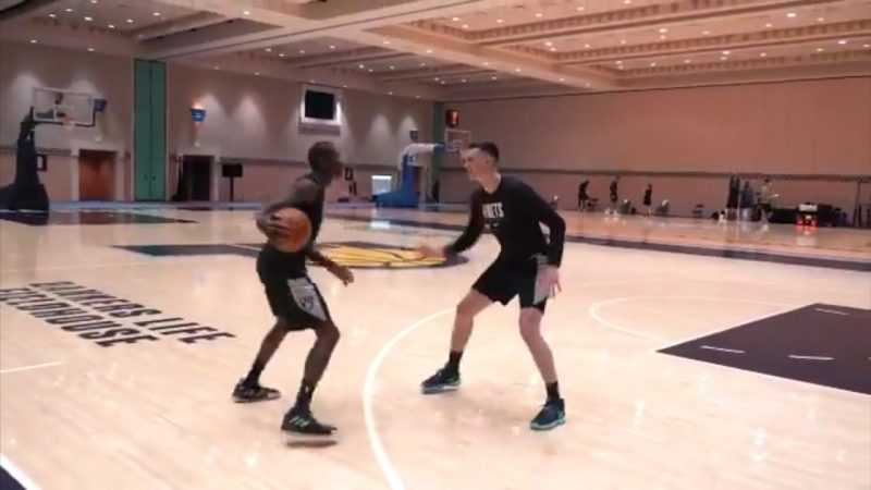 WATCH: Brooklyn Nets' Jamal Crawford is still breaking ankles at 40