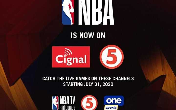 NBA is back on Philippines TV as Cignal scores 3-year deal