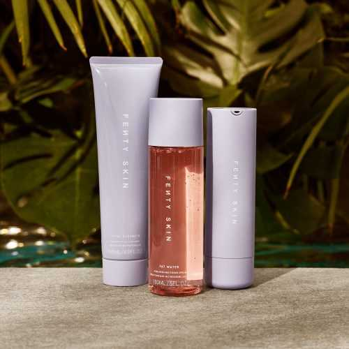 Fenty Skin delivers clean, value-packed, multitasking products that work seamlessly with makeup and respect the planet with earth-conscious packaging and formulas.
