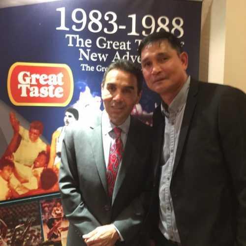 Ricardo Brown and Manny Victorino [photo credit: Manny Victorino Facebook]