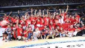 2019 PBA Governors' Cup Champions Barangay Ginebra (PBA Images)