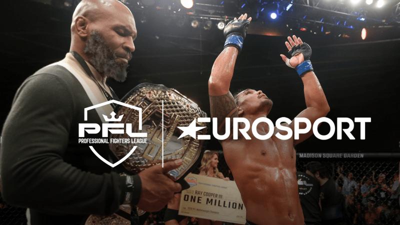 Professional Fighters League (PFL) Eurosport India Partnership