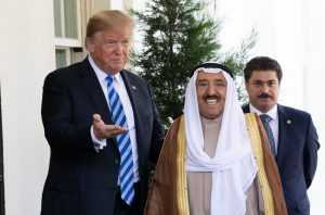 President Donald J. Trump welcomes the Amir of the State of Kuwait to the White House [photo: Official White House Photo | Wikimedia Commons]