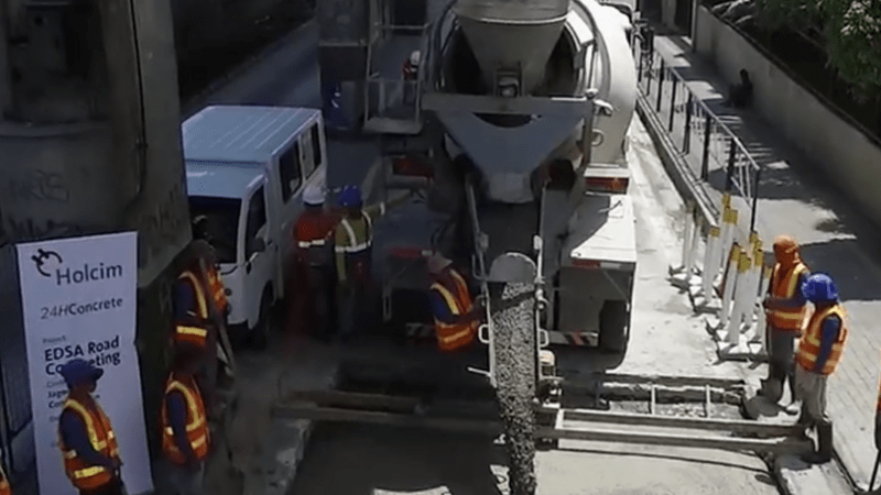 Holcim eyes roll out of one-day road repair concrete in Davao, Baguio