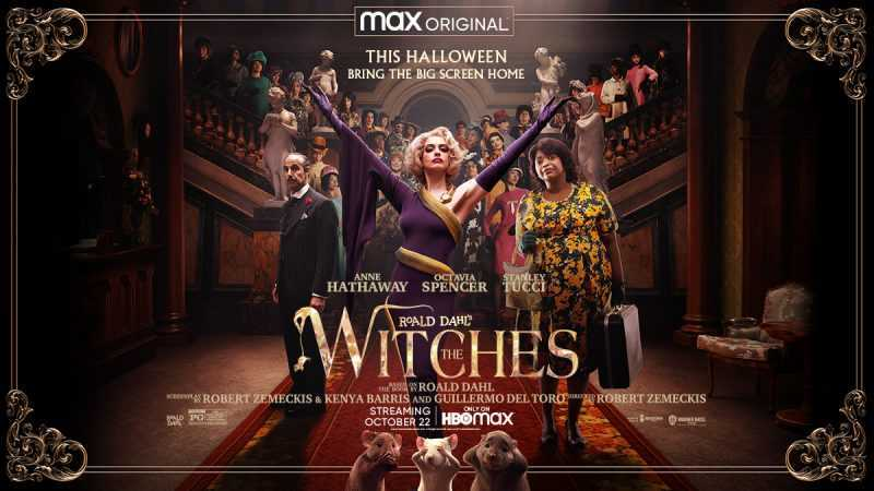Roald Dahl's 'The Witches' with Anne Hathaway drops exclusively on HBO Max