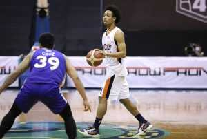 Chris Newsome of the Meralco Bolts [PBA Images]