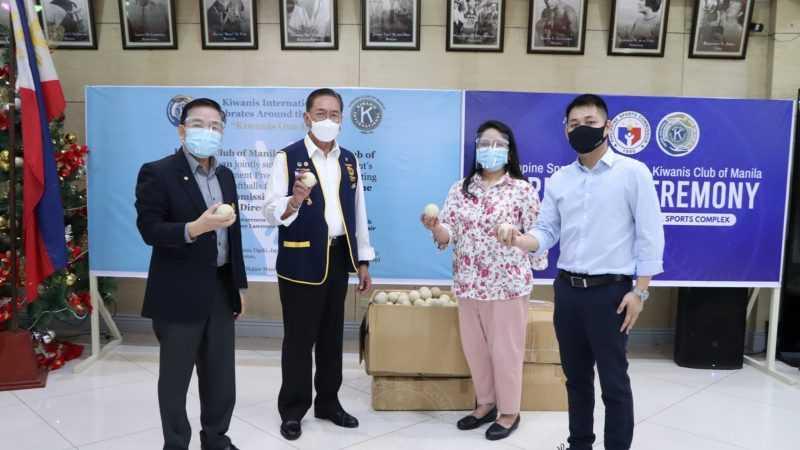 PSC, Sen. Bong Go praise Kiwanis Club of Manila softball donation