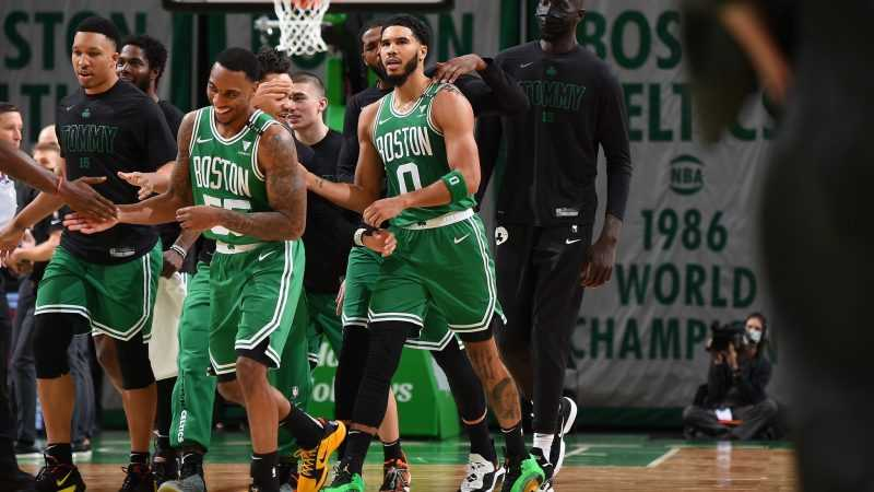 NBA: Celtics' Tatum drains game-winner over Giannis in epic battle [WATCH]