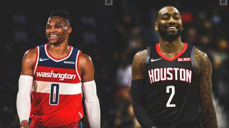 NBA: Rockets' Russell Westbrook traded to Wizards for John Wall
