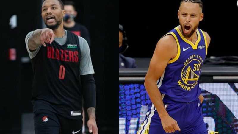 NBA: Lillard, Curry preferred by GMs to take game-winning shots