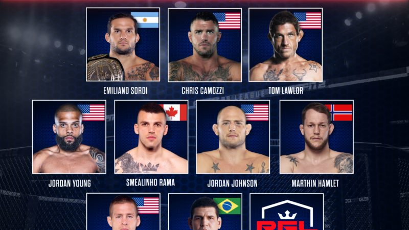 PFL: Welterweight, Light Heavyweight Fighters on tap at April 29 broadcast
