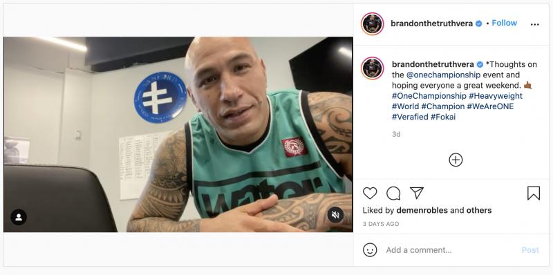 Brandon Vera [ONE Championship]