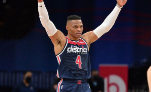 Russell Westbrook [photo from russwest44 Instagram account]