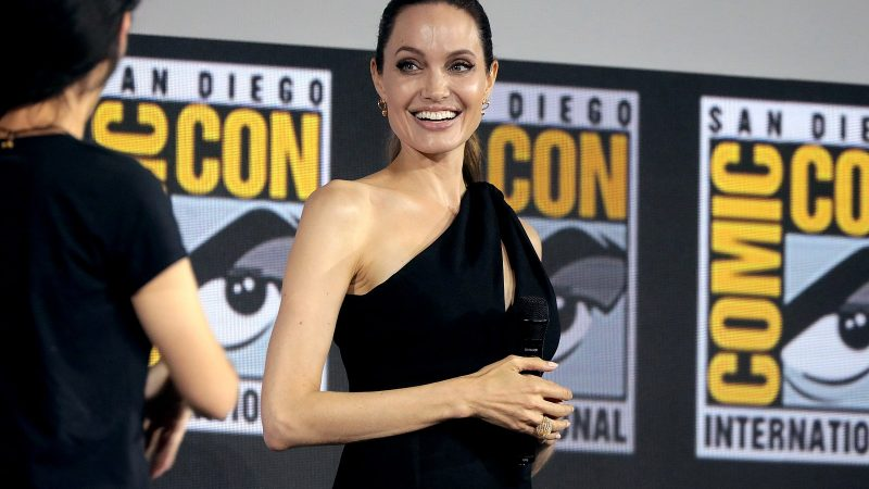 Angelina Jolie 'lights up' when she talks about The Weeknd