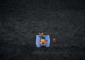 sunbathing [Photo by Vidar Nordli-Mathisen on Unsplash ]