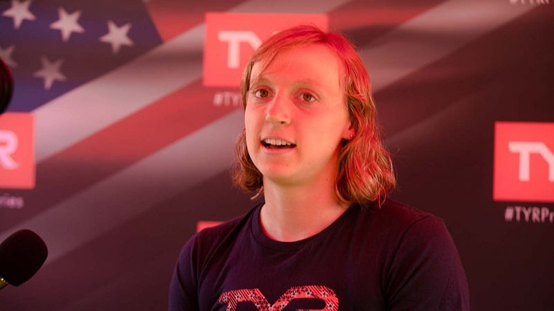 Ledecky targets 2028 Olympics after bagging 7th gold