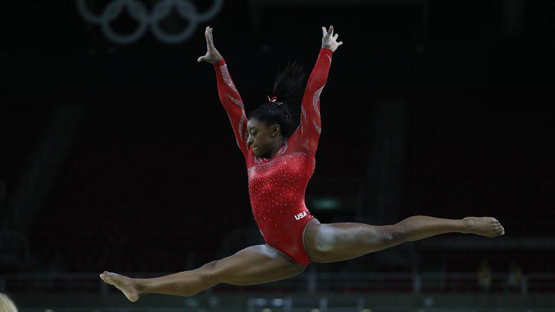 Simone Biles feeling Olympic pressure