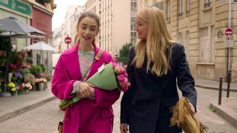 Filming 'Emily in Paris' season 2 has been strange, says Camille Razat