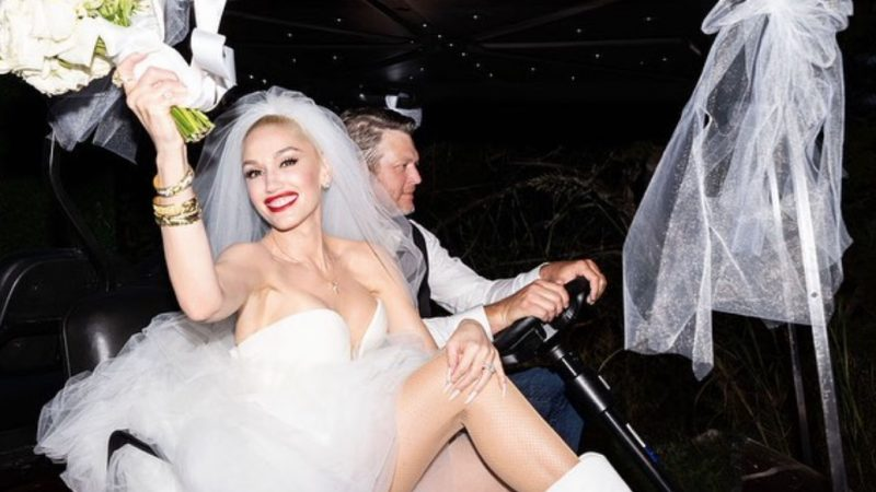Gwen Stefani, Blake Shelton wedding: 'It's a dream come true!'