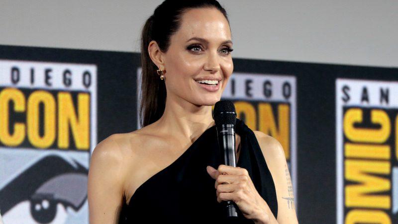 Angelina Jolie's record-breaking Instagram debut