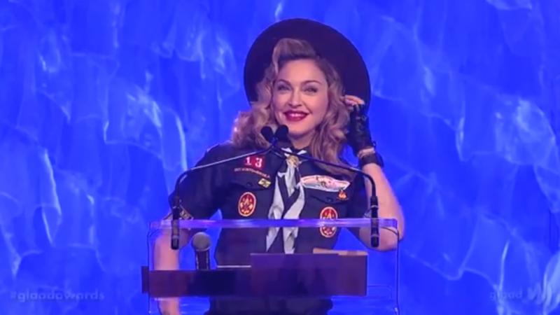 Madonna signs career-spanning deal with Warner Music Group