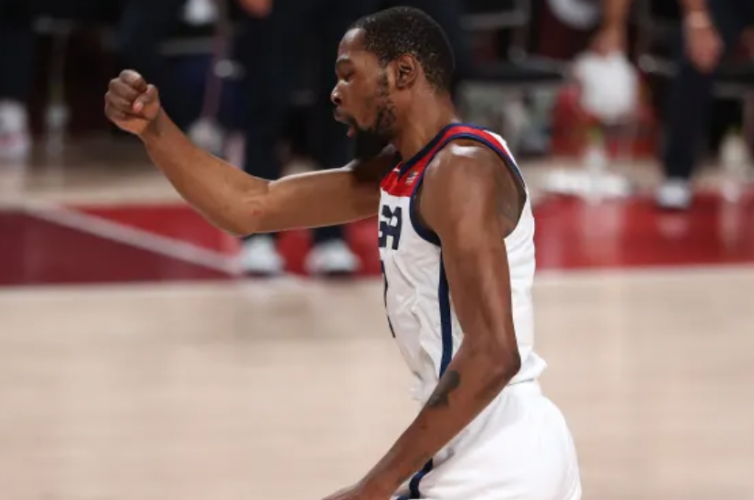 Kevin Durant [photo credit: Olympics.com]