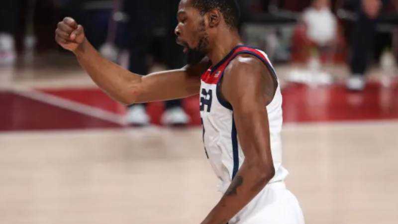 Tokyo Olympics: Durant leads USA to 4th-straight basketball gold