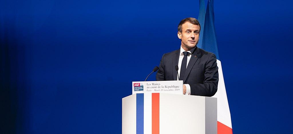 Emmanuel Macron [Wikimedia Commons | Jacques Paquier]