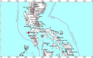 Quake epicenter (Image grabbed from Phivolcs website)