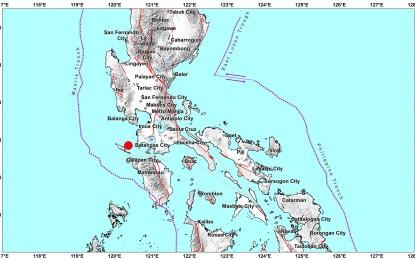 Magnitude 5.7 quake jolts Occ Mindoro