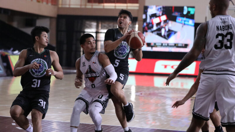PBA: Dyip's Tiongson adjudged Player of the Week